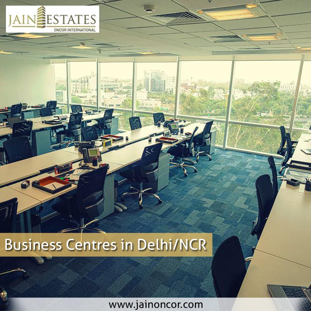 business center in Delhi